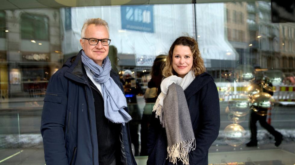 Bilde av Kristian Berg Harpviken og Hedda Langemyr