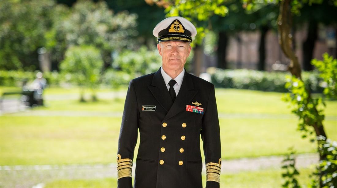 Forsvarssjef Admiral Haakon Bruun-Hanssen. Foto: Johannes Maximilian Schnell / Forsvaret