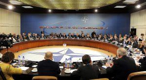 NATO-møte i Brussel, 14. oktober 2010. Foto: U.S. Air Force Master Sgt. Jerry Morrison
