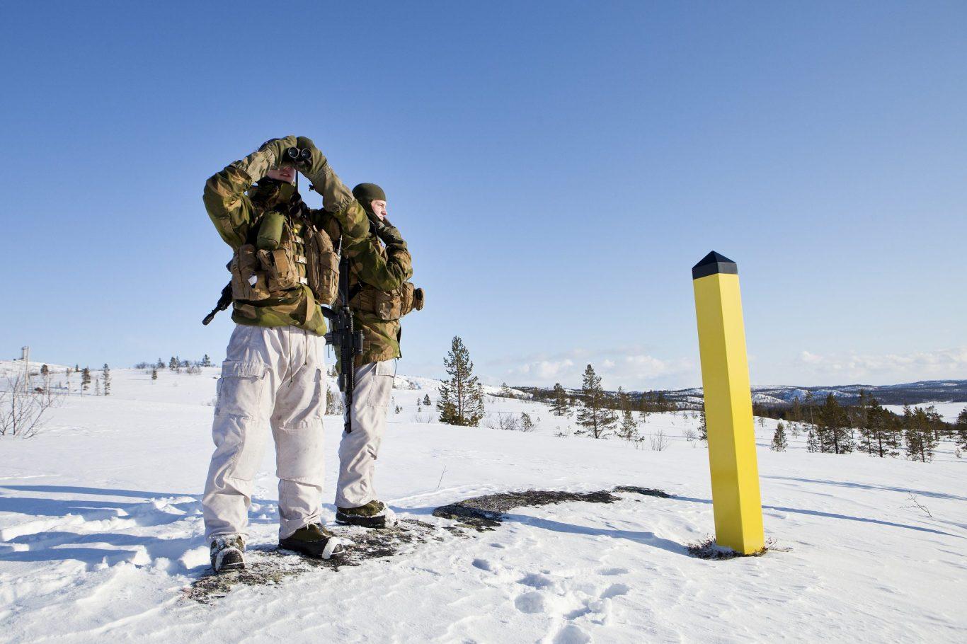 Garnisonen i Sør-Varanger, Finnmark. Foto: Forsvaret