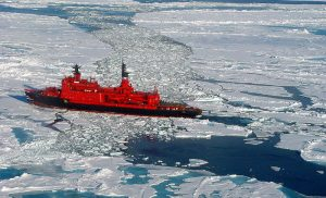 Russian ice breaker. Photo: Wofratz/Wikimedia Commons