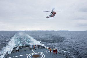 KV Svalbard på øvelse. Foto: Jonas Selim / Forsvaret