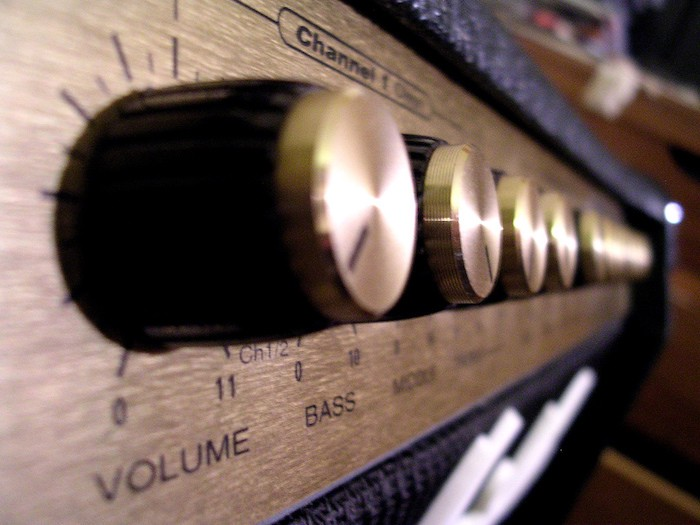 Illustration photo of volume knobs