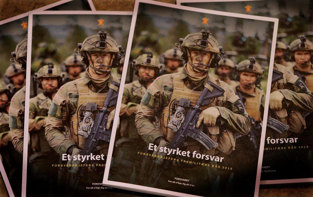 Illustrasjonsfoto av Forsvarssjefens Fagmilitære råd 2019. Foto: Torbjørn Kjosvold / Forsvaret