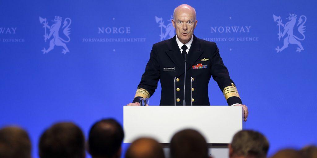 Forsvarssjef Haakon Bruun-Hanssen. Foto: Torbjørn Kjosvold / Forsvaret