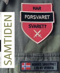 Skjermdump av forsiden til tidsskriftet Samtiden, nr. 1 2020.