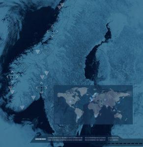Skjermdump fra Meld. St. 38 IKT-sikkerhet. Illustrasjon: M. Sylstad, NSM. Kilde: Visible Earth/NASA.