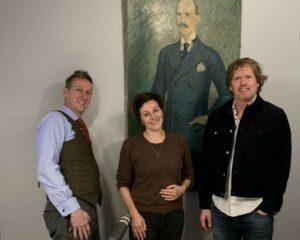 Asle Toje, Ingrid Vik og Thorgeir Kolshus. Foto: Polyteknisk Forening.