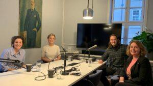Fra venstre: Ingrid Vik, Ingunn Solheim, Christian Kjelstrup og Mette Eriksen.