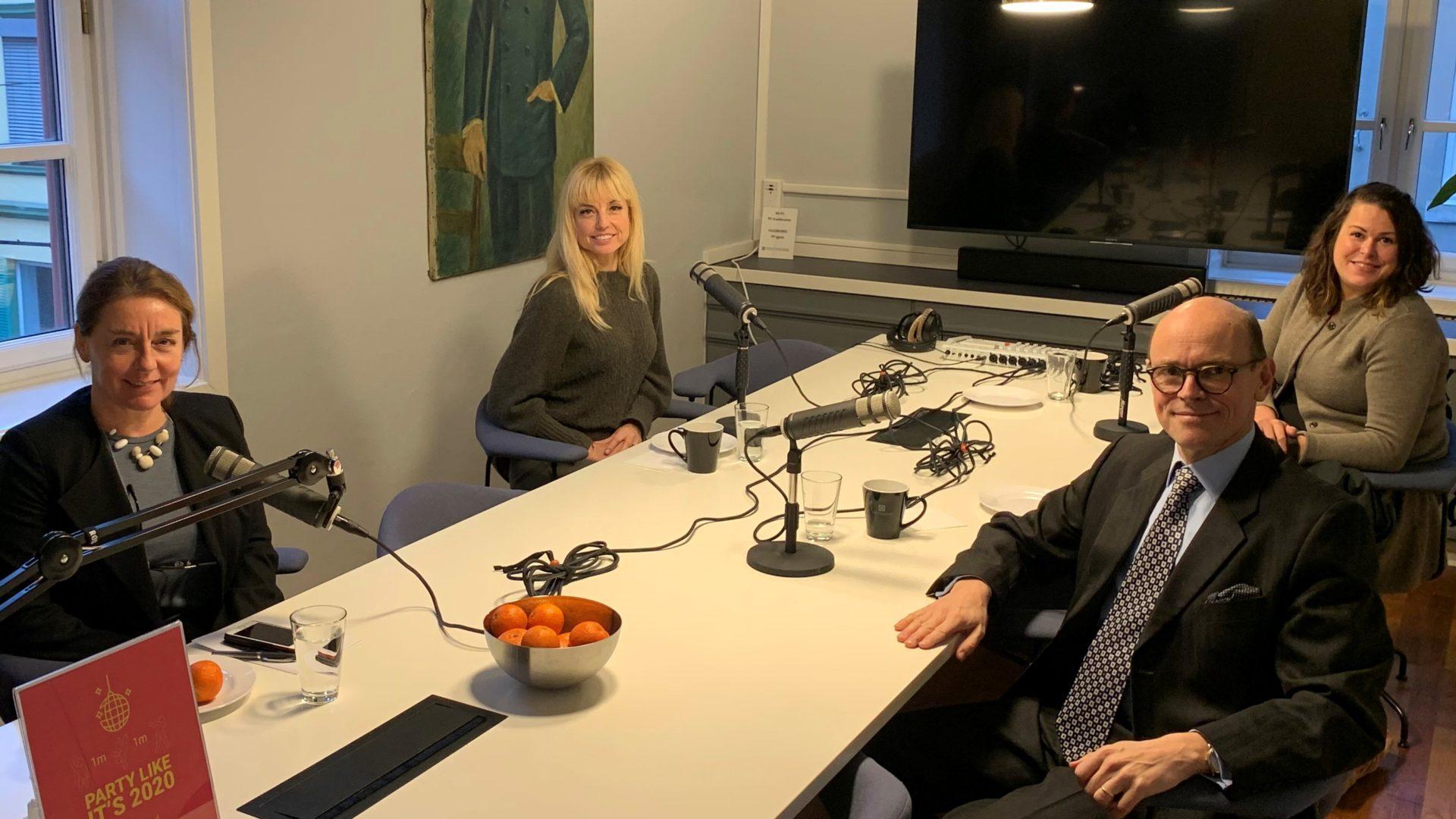 Fra venstre: Mette Vågnes Eriksen, Ingvild Næss, Hedda Langemyr og Arne Bjørnstad